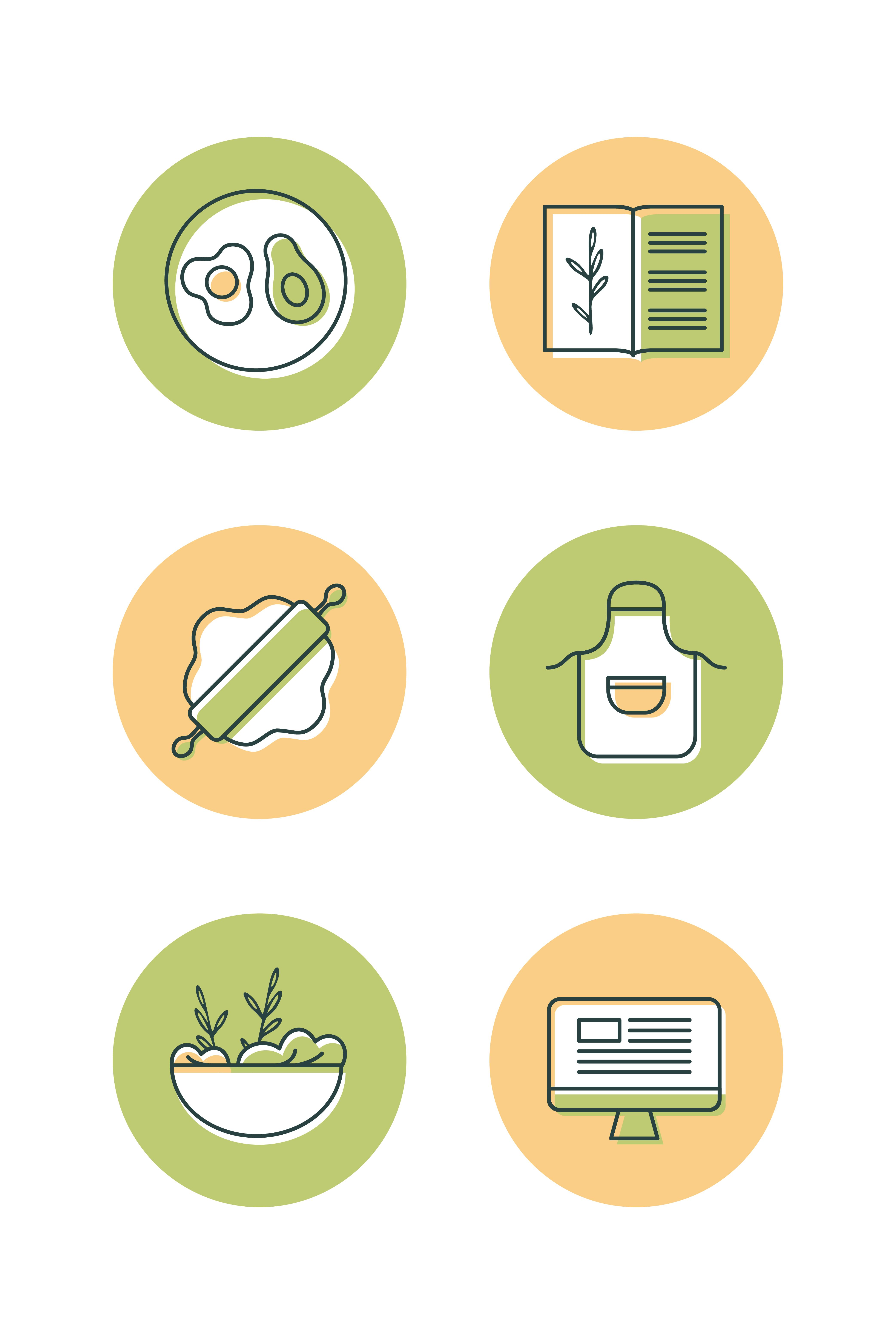 Instagram Highlights For Sophie S Healthy Kitchen Nutritionist Food Blogger Icon Set Icondesign Iconset Iconaday Foodicons Diyetisyen