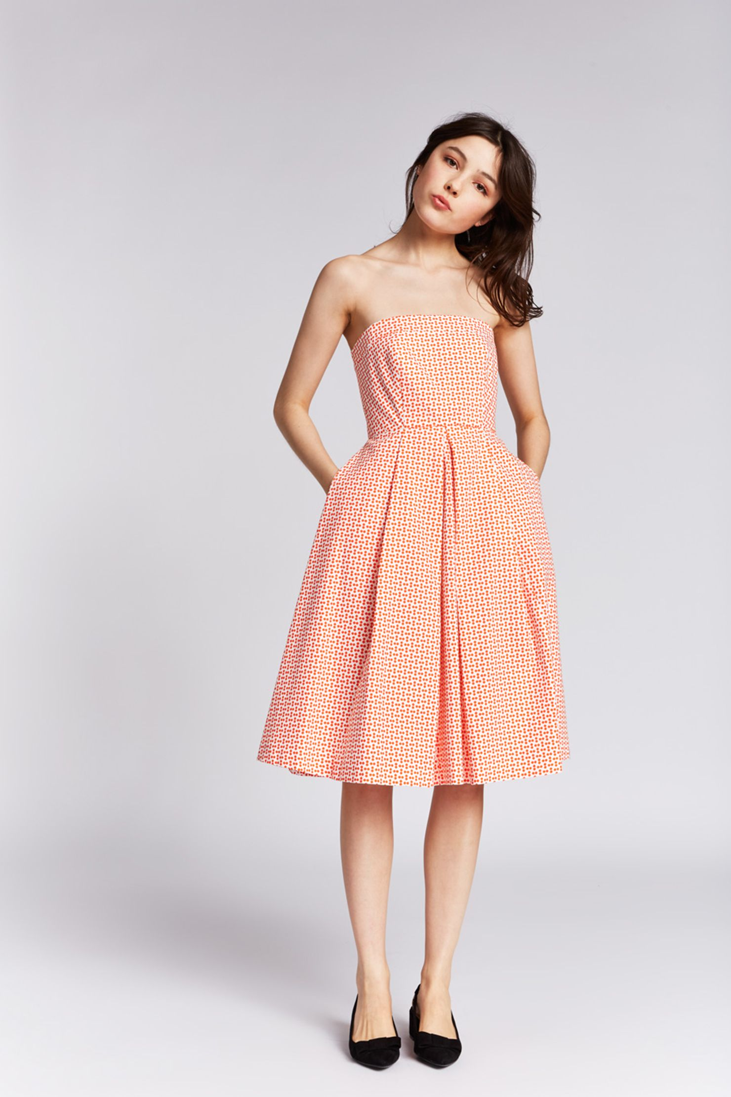 Mid-length dresse - 16411-r3763 - Print zoom