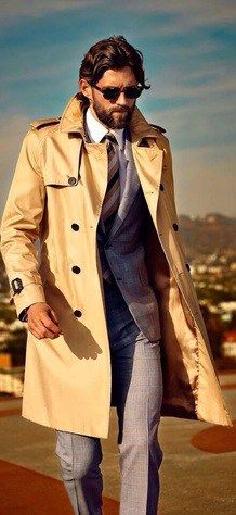 Rock Look Simple Tips Overcoat Chic The 5 Manteau To Pinterest tHCYtw