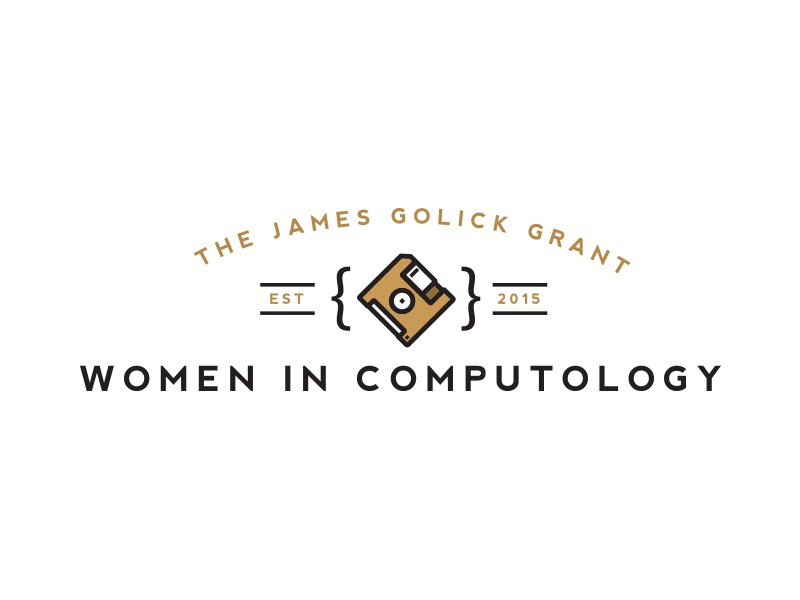 The James Golick Grant for Women in Computology | Logos and Typography