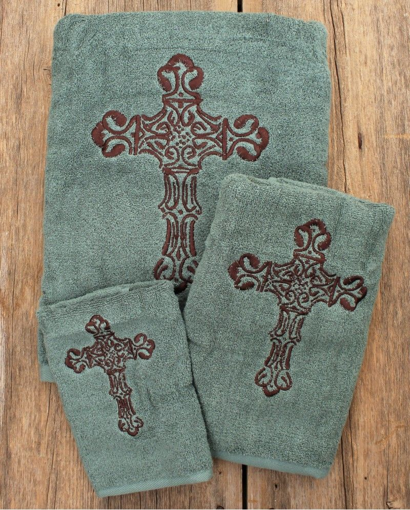 Decorating With Bathroom Towels Western Bathroom Decor Western Home Decor Southwestern Home Decor