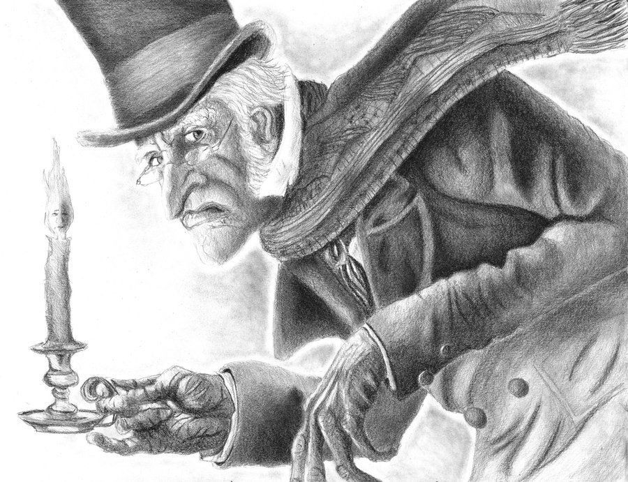 A Christmas Carol Scrooge Drawing Easy.Drawing Of Scrooge From Disney S A Christmas Carol My