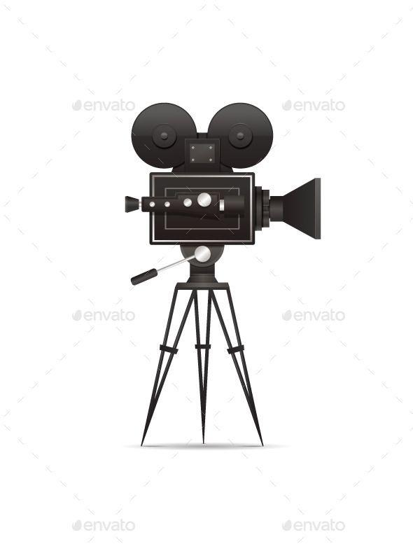 Film Camera Camera Illustration Vintage Film Camera Film Camera