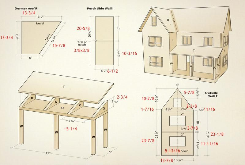 <strong>Craft project:</strong> Making a dollhouse is much like building a conventional house – it takes time and patience. While there are a lot of pieces to this challenging project, they are not overly complicated to cut and assemble. <br />