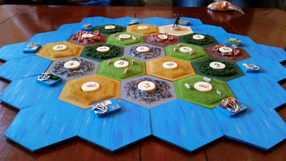 How To Build Your Own Catan Set — For Chits & Giggles