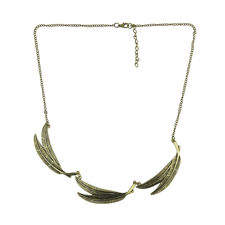 * Penny Deals * - Leaf Explosion models exaggeration fashion retro false collar necklace -- Visit the image link more details.