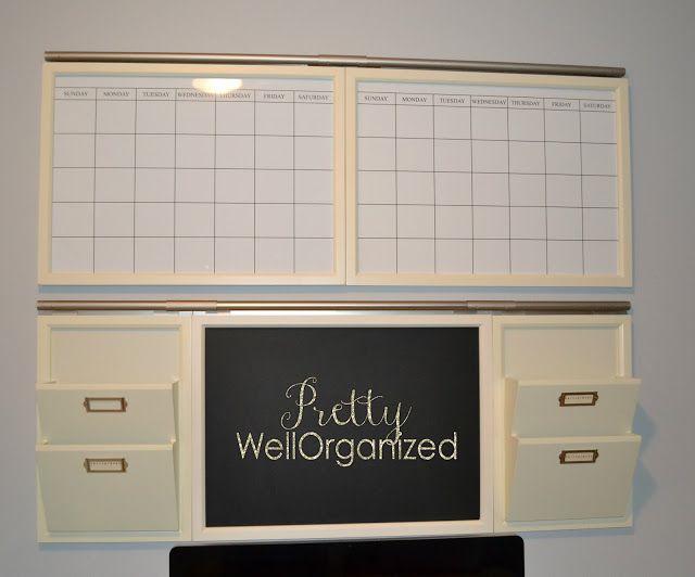 A New Office Command Center @ Prettywellorganized.com