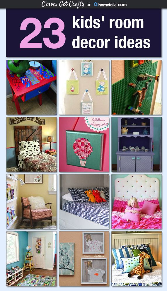23 Kidsu0027 Room Decor Ideas