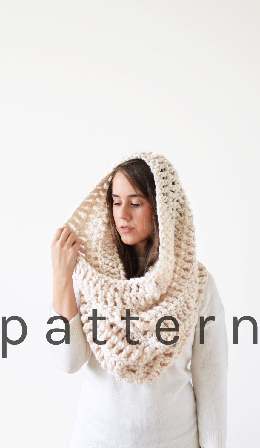 Hooded Cowl Pattern . Crochet Hooded Cowl Pattern . Hooded Cowl ...