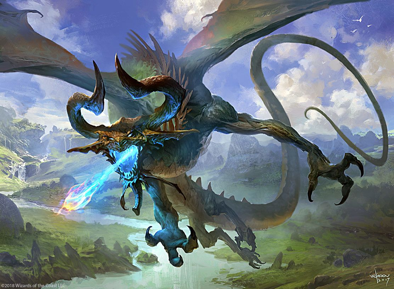 Artstation Nicol Bolas The Ravager Svetlin Velinov Mtg Art Fantasy Creatures Mythical Creatures