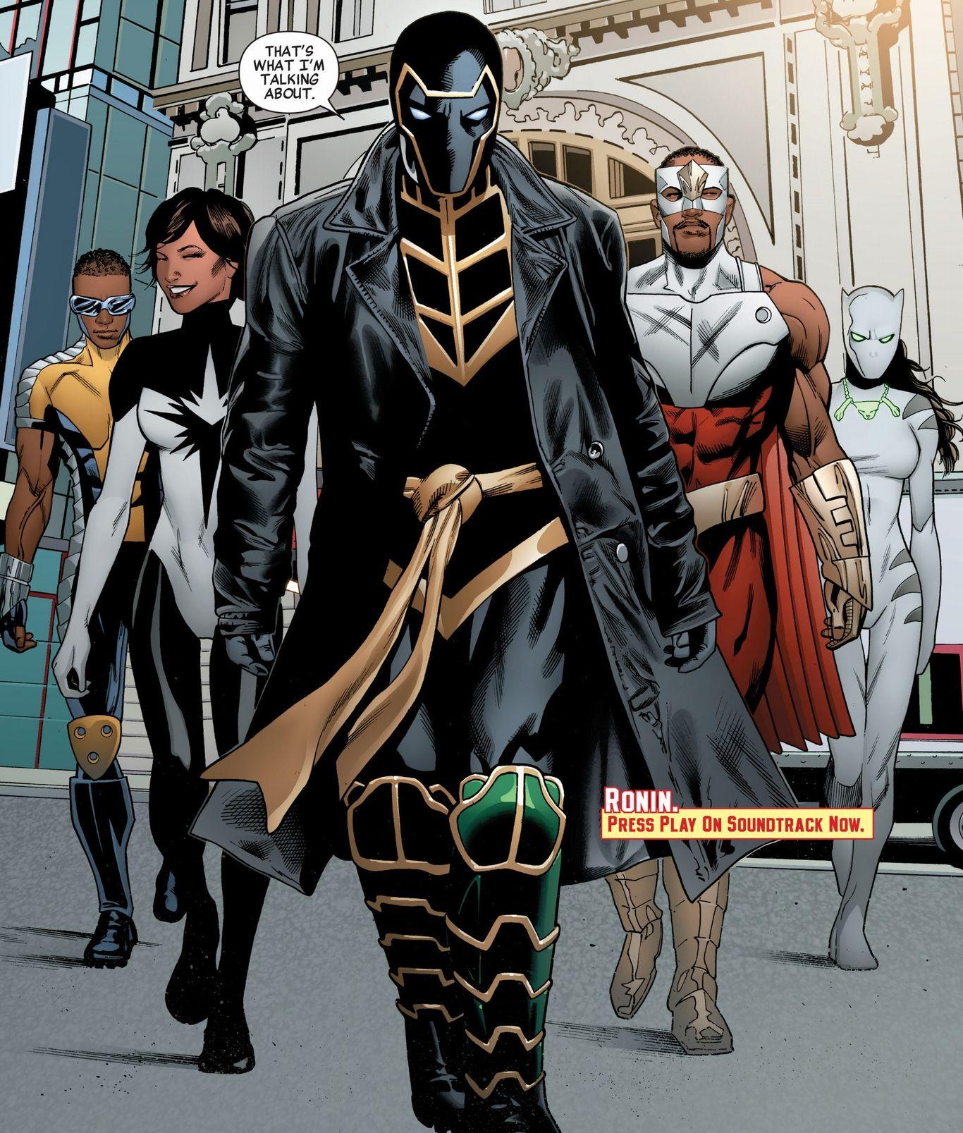 Black Avengers Anime, Comic Books & Graphic Novels