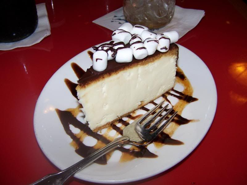 But this, the S'Mores Cheesecake, gives me a reason to look forward to that return visit!  I almost always get it to go and eat it the next day....poolside.  Yeah, I have no shame. #disney
