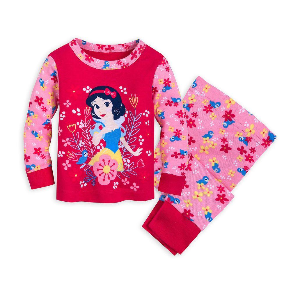 11d9c2e9d Disney Snow White Princess Pajamas PJ Pals Baby Girls Size 0 3 6 9 12 Months