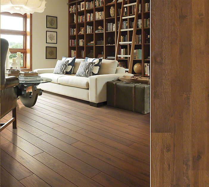 Shaw Floors Laminate In A Time Worn Hickory Visual Style