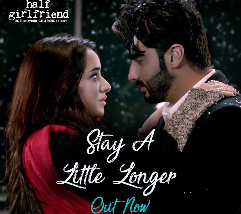 Stay A Little Longer Official Video Song Half Girlfriend Arjun Kapoor Shraddha Kapoor Voice Of Anushka Shahaney M Half Girlfriend Movie Releases Songs Pero cuando todo se convierte en una bella historia de amor, riya se da cuenta de que no puede vivir con madhav. pinterest