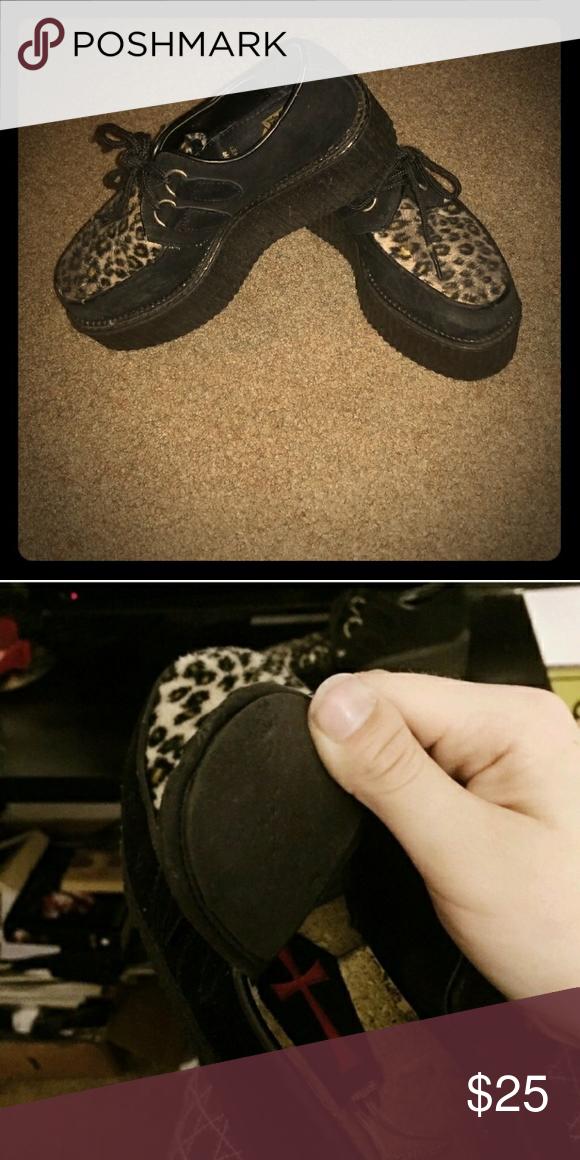 24314a6fee66 Demonia TUK creepers Demonia TUK brand. Coffin compartment inside of shoes  to stash stuff🕸 size 6 men s 8 women s. tuk Shoes
