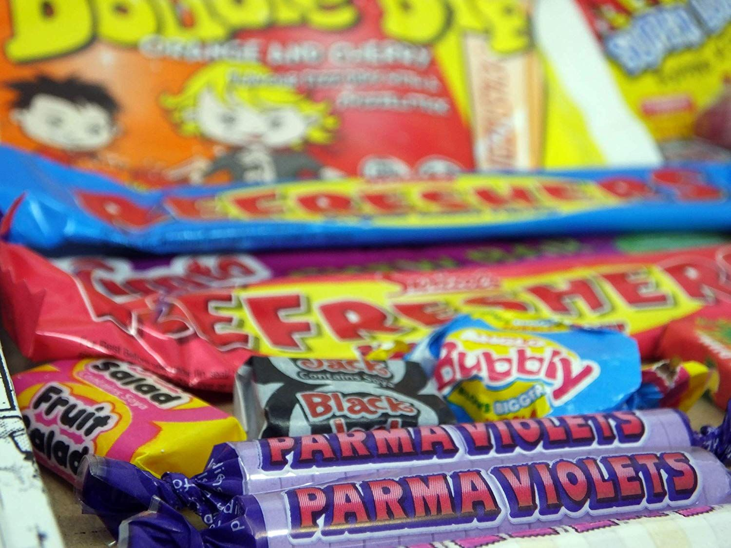 Letterbox Buster Retro Sweets Retro sweets