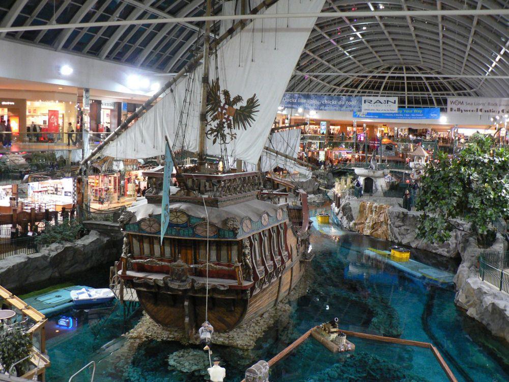 West Edmonton Mall. Over 5.3 million sq. ft. of shopping ...