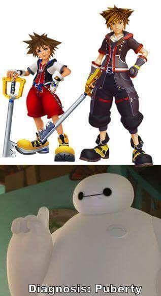 Sora Puberty Big Hero 6
