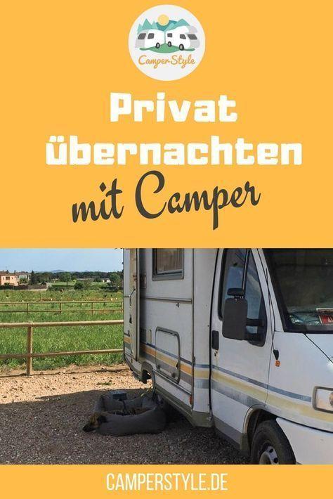 Photo of Private Übernachtungsmöglichkeiten für Camper mit Landvergnügen u.A.
