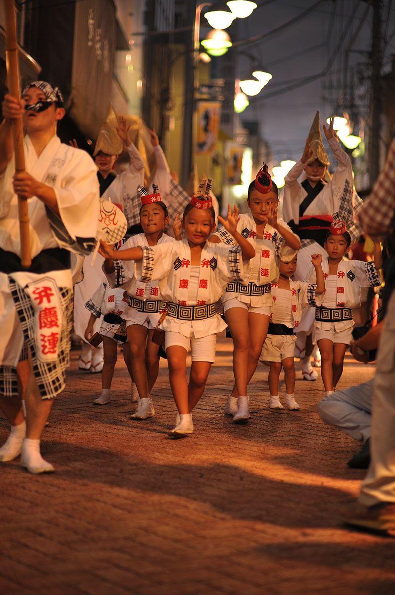 Benkeiren dance team at Koenji Awaodori Festival