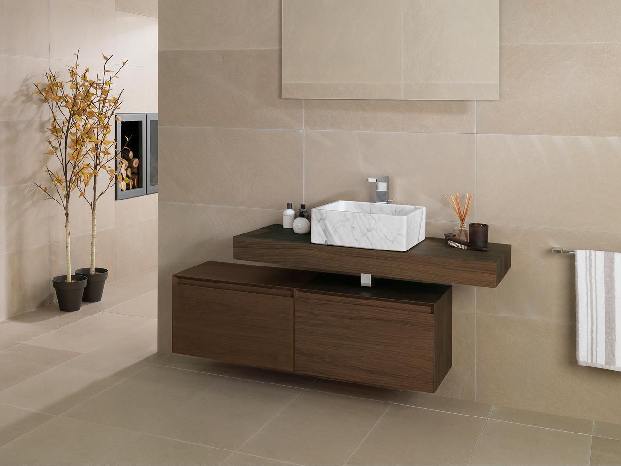 Porcelanosa bathroom sinks - Bath Mobiliario Ba O Porcelanosa