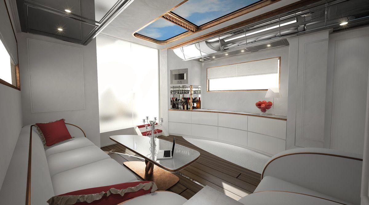 Luxury rv interior - Rv