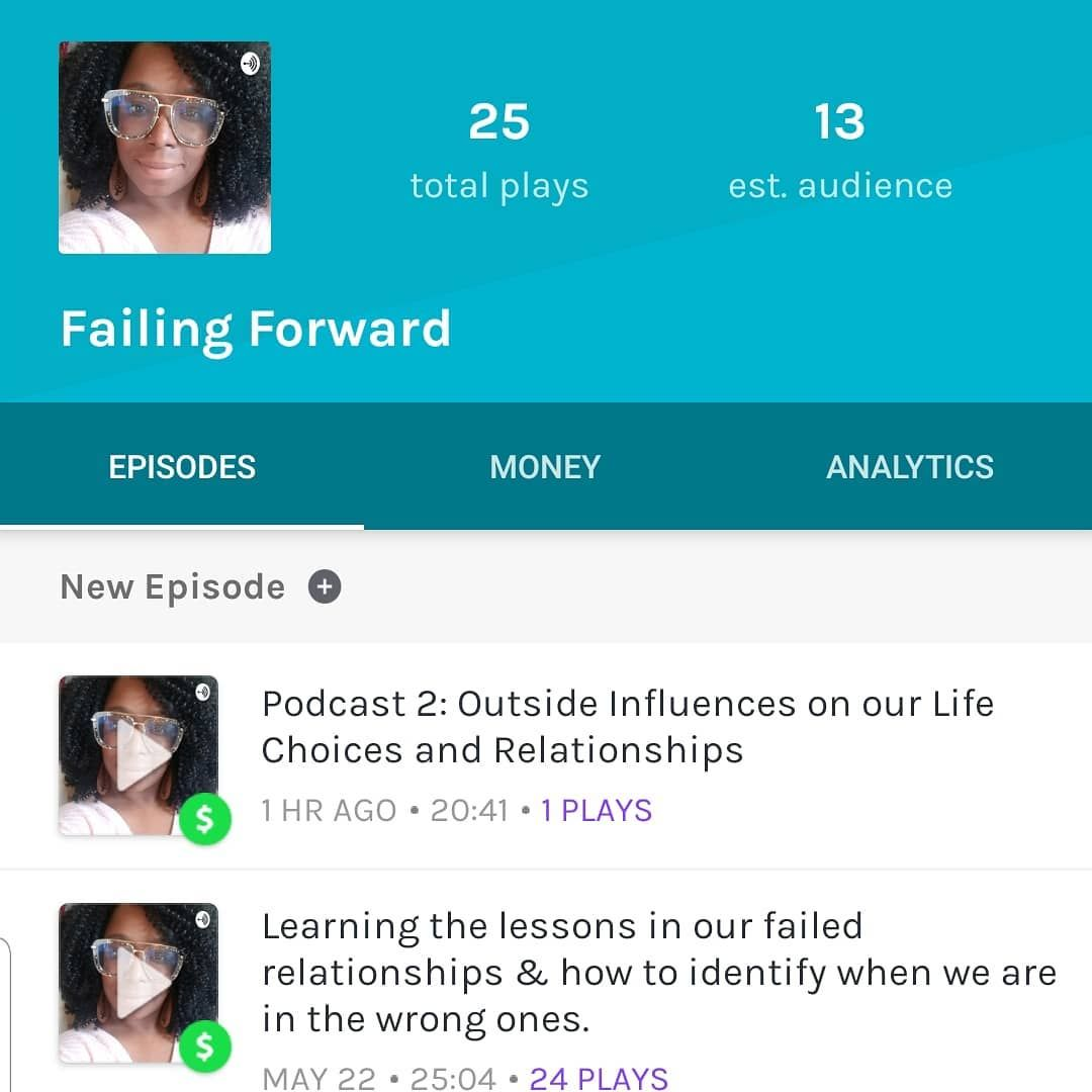 My podcast is currently available! Ck it out on Anchor