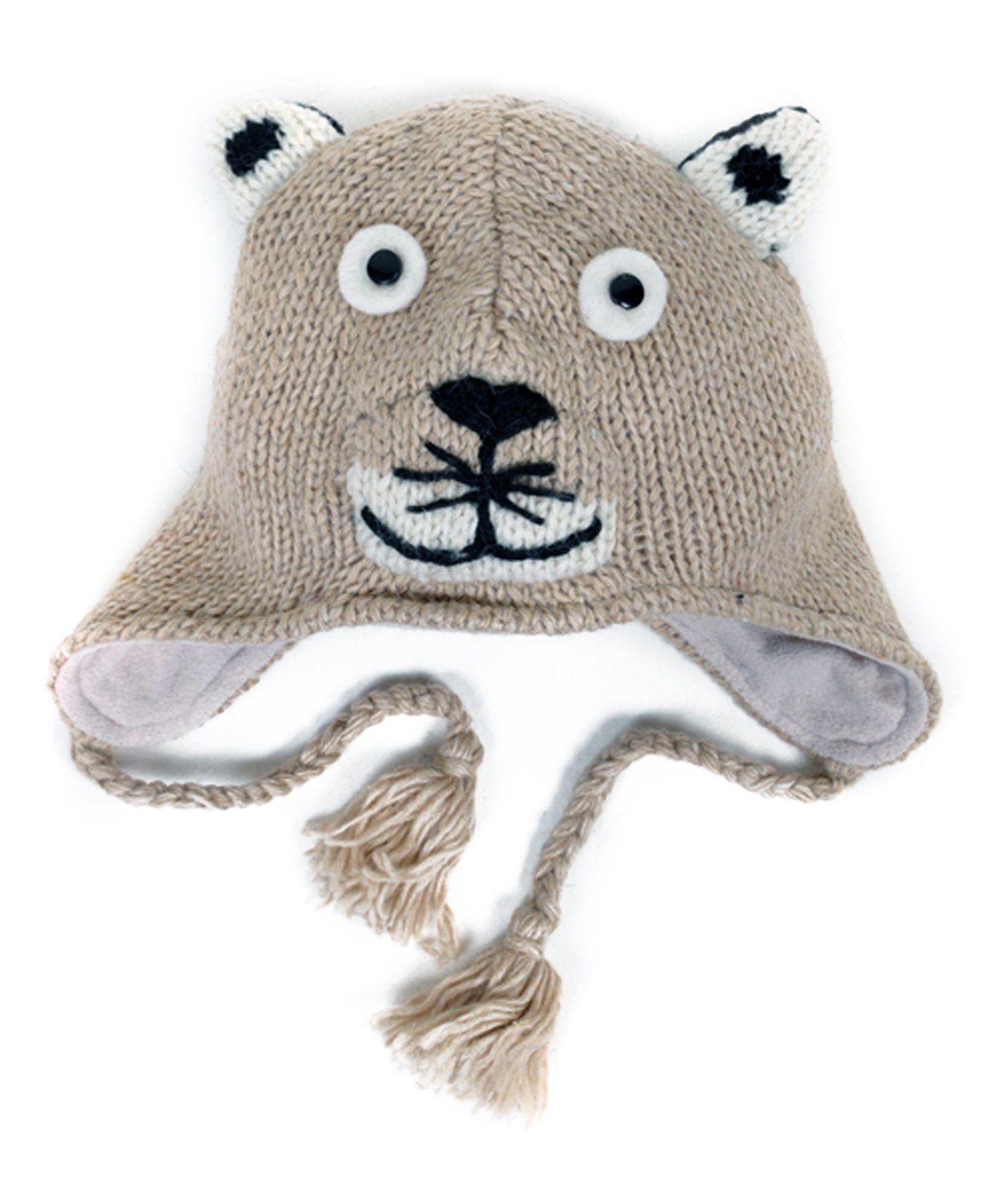 Amazon.com  100% Wool  Hat-imals  Plush Knit Winter Hats (Wool ... 537eb59613d4