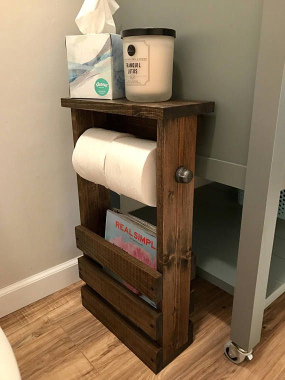 Pin By Blackironworks On Diy Pallet Furniture In 2020 Bathroom Toilet Paper Holders Toilet Paper Holder Toilet Paper