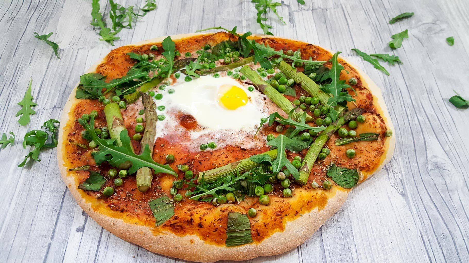 Frühlingspizza - Rezept und Anleitung - Natürlich Lecker