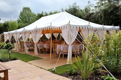 A perfect wedding lunch under a White Canvas Wedding Tent & A perfect wedding lunch under a White Canvas Wedding Tent | Event ...