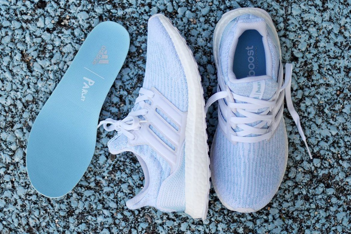 Ultra Boost 3.0 in Ice Blue by Parley x