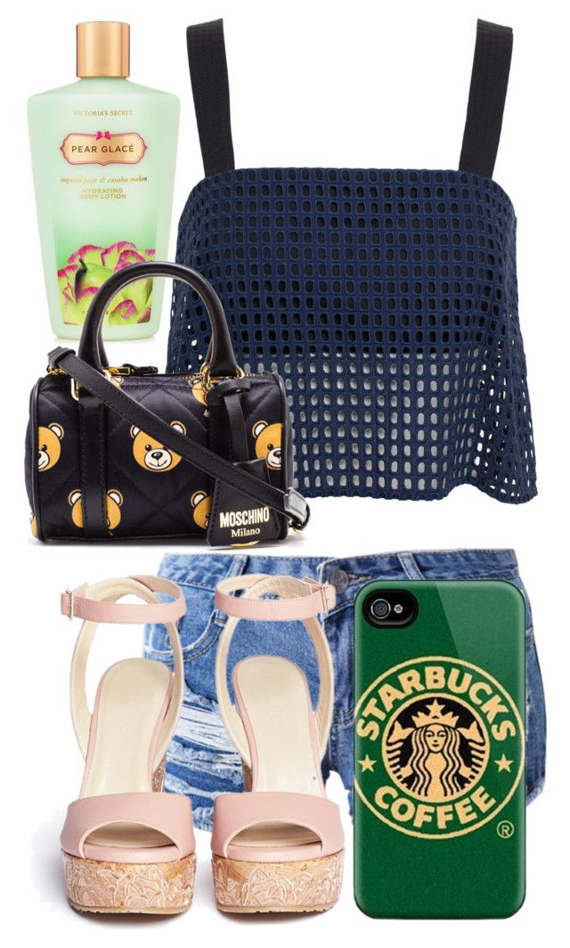 """""""Spastic goose"""" by nikikaren ❤ liked on Polyvore featuring 3.1 Phillip Lim, Chicnova Fashion, Jimmy Choo, Victoria's Secret and Moschino"""