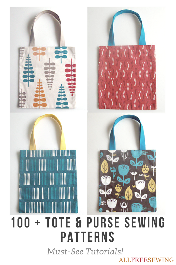 31 Days of Sewing | Tote bag, Purse and Patterns