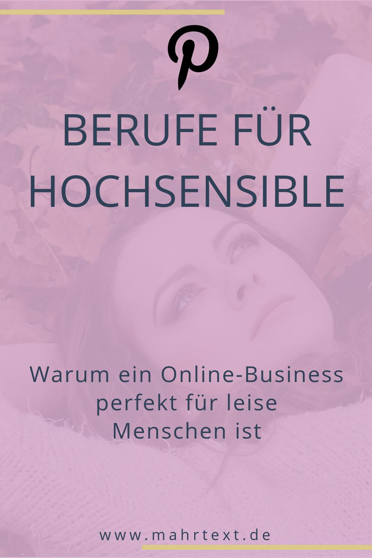 Pin auf Sonja Mahr: Online-Sichtbarkeit, Texte, Marke