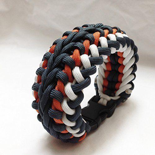Wide Paracord Survival Bracelet Survival Bracelet Paracord