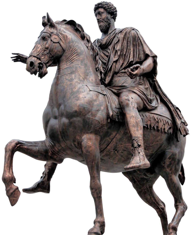 1161 quotequestrian statue of marcus aureliusquot c 175 ce