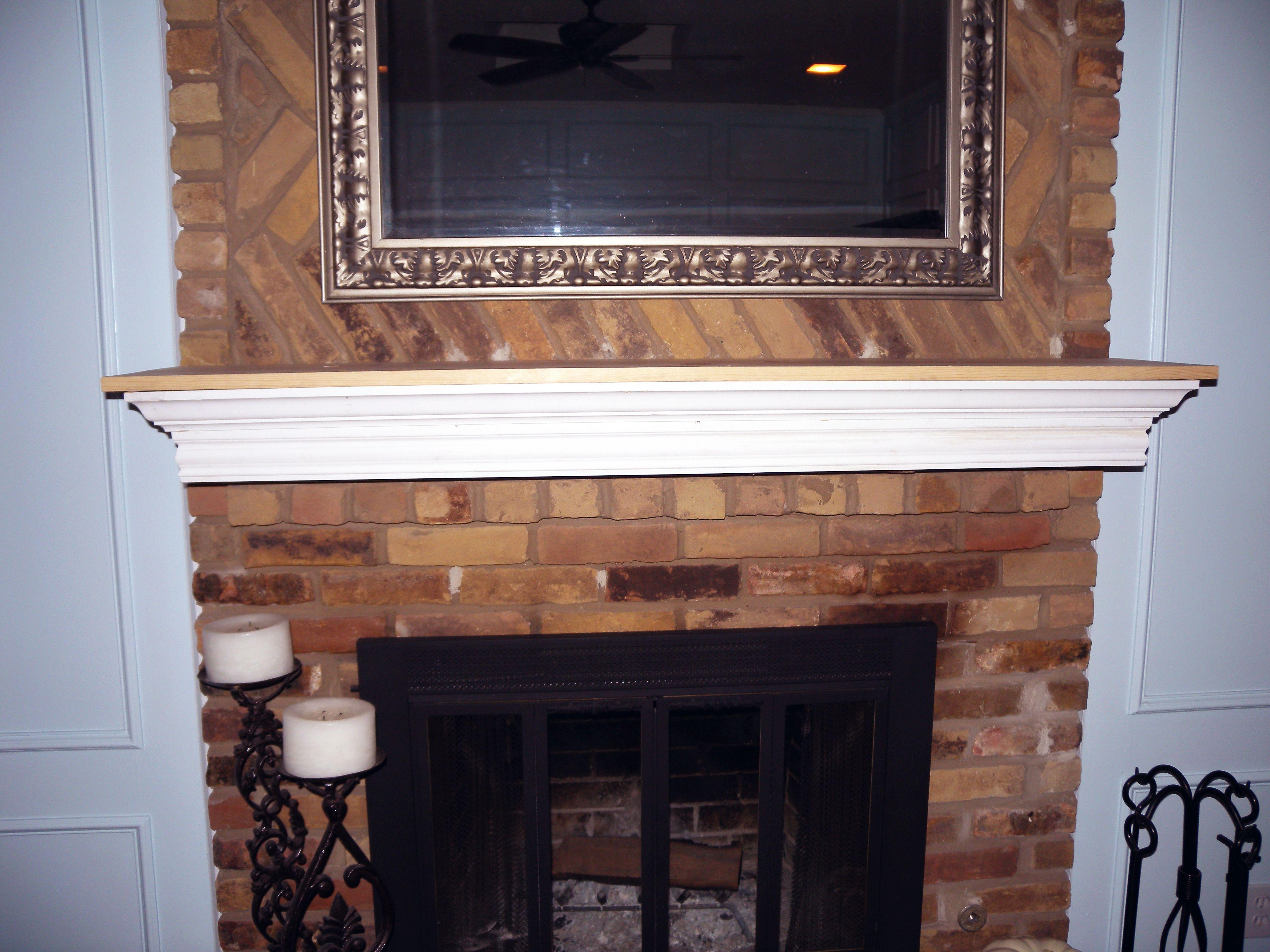 dscn0641_v2.jpg (4224×3168) Brick fireplace makeover