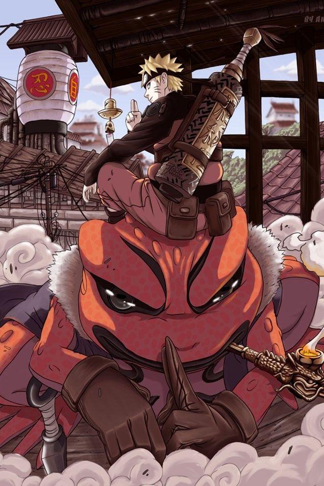 Naruto Frog Sage Com Imagens Anime Naruto Manga Anime Naruto