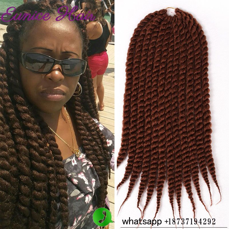 Havana 2x Havana Mambo Twist Crochet Senegalese Twist Hair Jumbo