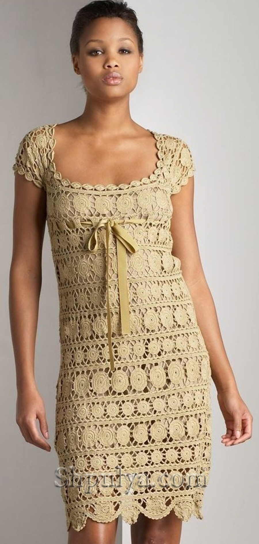 Ажурное платье крючком - SHPULYA.com #hochzeitskleiderhäkeln Ажурное платье крючком - SHPULYA.com #hochzeitskleiderhäkeln