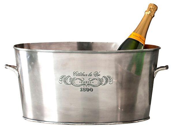 One Kings Lane C Est La Vie Celebrer La Vie Party Tub Party Tub Beverage Tub Wine Chillers