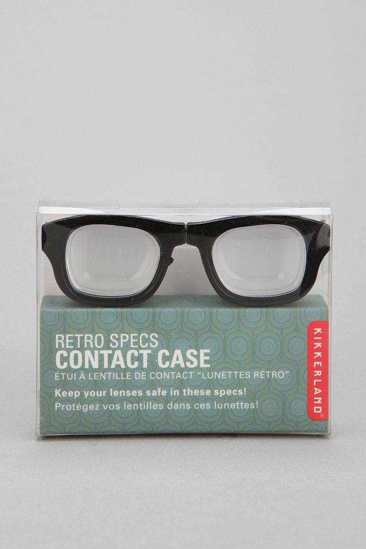 Retro Contact Lens Case