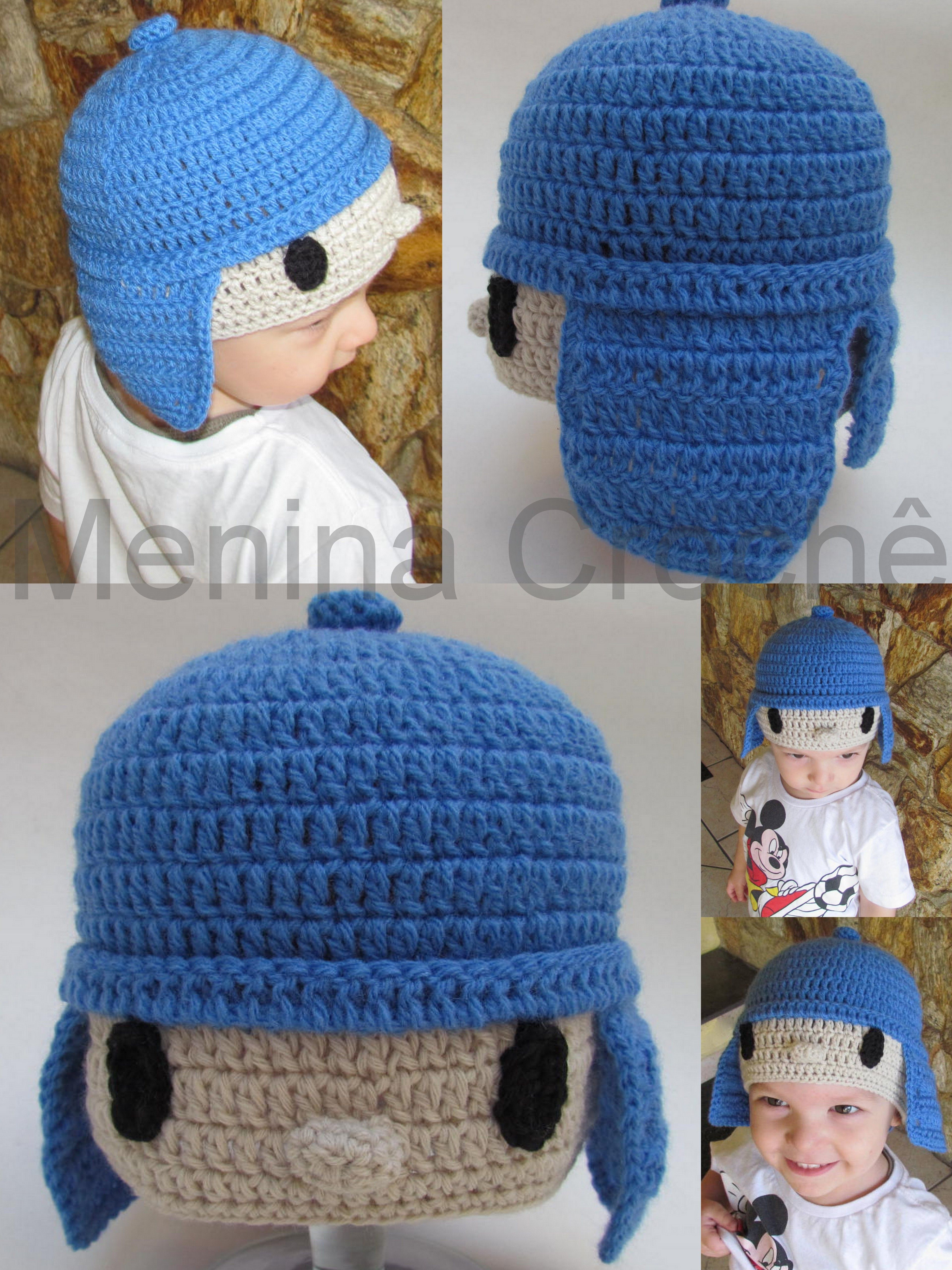 Touca Pocoyo | tejidos | Pinterest | Gorros, Pocoyo y Gorros crochet
