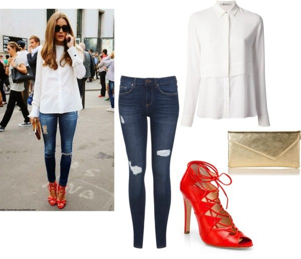 """Get the Look: Olivia Palermo"" by nicolecrandall on Polyvore"