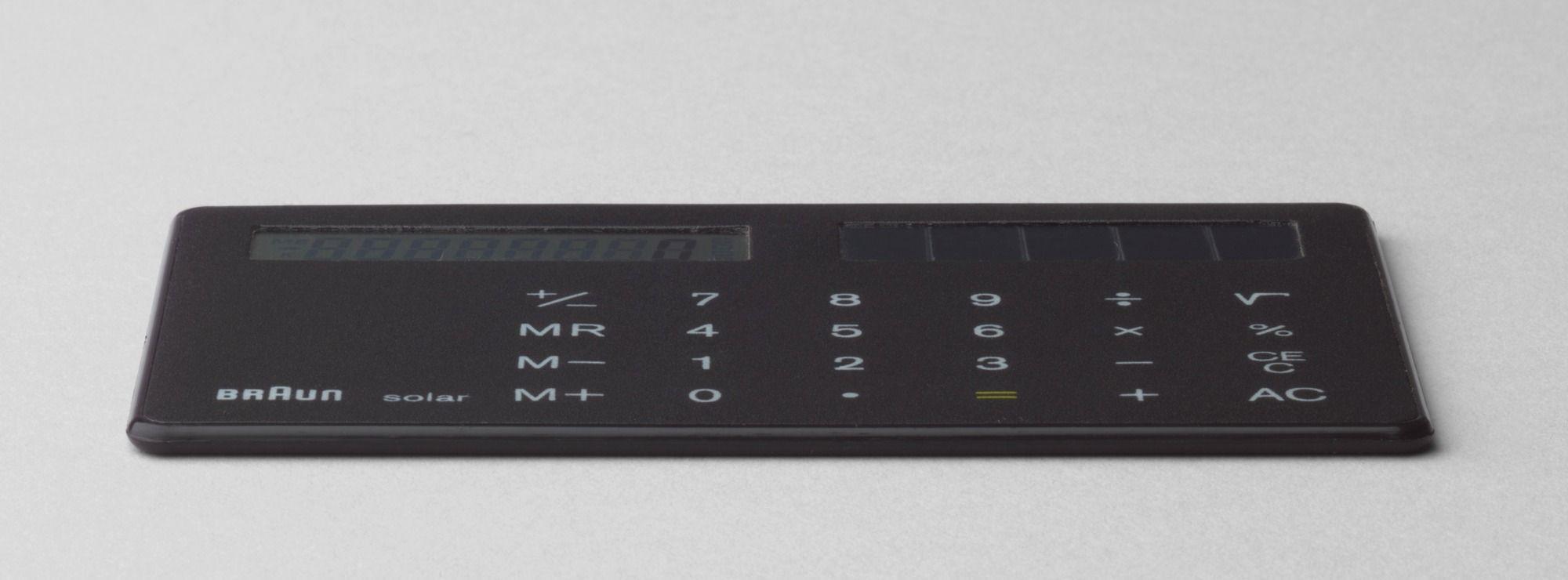 Dietrich lubs calculator 1986 braun ag frankfurt