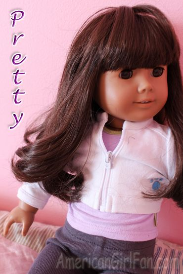 how to do rag rolls curls on doll hair american girl doll crafts american girl hairstyles. Black Bedroom Furniture Sets. Home Design Ideas
