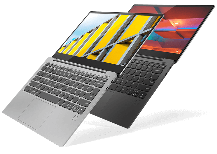 The Stylish Ultraslim Yoga S730 In Iron Gray And Platinum Colors