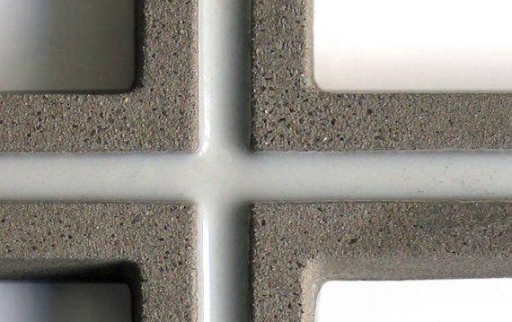 WALL CROSS Contemporary Concrete Home Decor Hanging ...